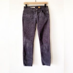 Pilcro and the Letterpress Gray Corduroy Pants